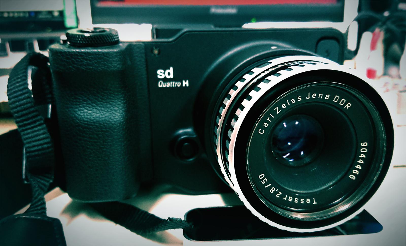 sd Quattro H + Tessar50mmF2.8