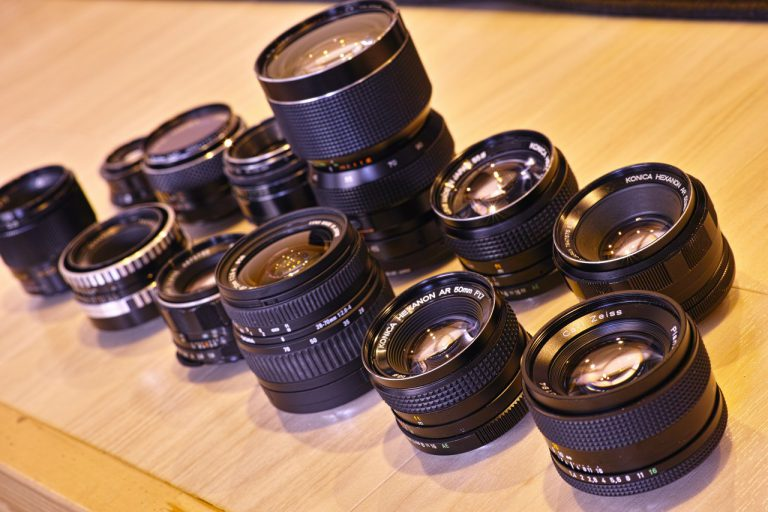 50mm(付近)レンズ開放一斉比較2018