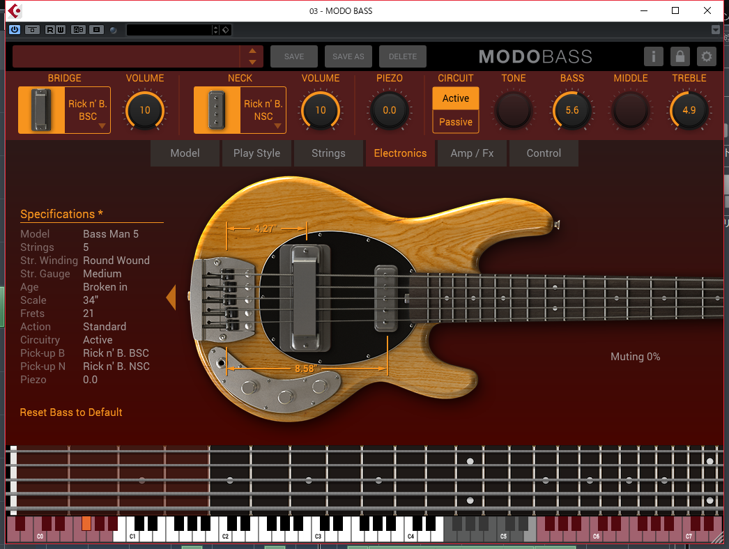 IK MultimediaのMODO BASSの音色