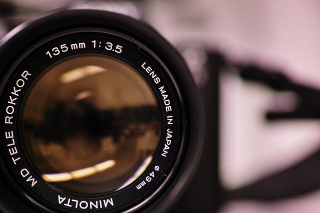 くもりまくりのMINOLTA MD TELE ROKKOR 135mm F3.5と「かすみの除去」