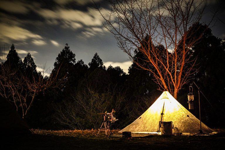 年越しキャンプとSIGMA fp