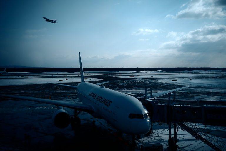飛行機とSIGMA fp